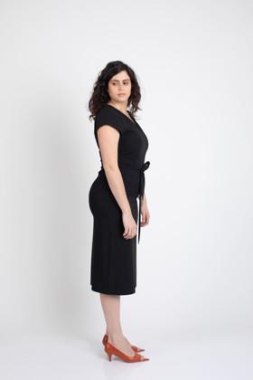 תמונה של שמלת DESPA שחורה