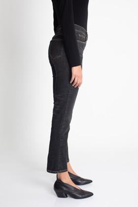 תמונה של מכנסי VERA STRAIGHT שחורים