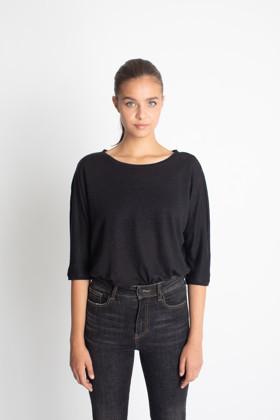 תמונה של חולצת ROCHAV RINA שחורה