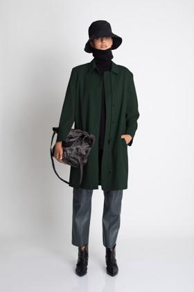 תמונה של מעיל CAMIL ירוק