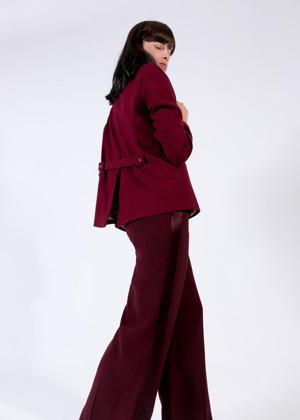 תמונה של מכנסיים PICTORIA בורדו