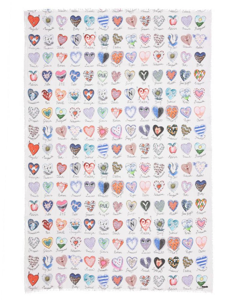 תמונה של צעיף HEARTS