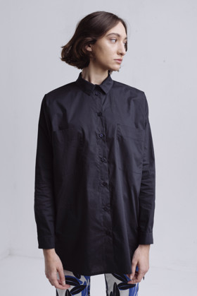 תמונה של חולצה משוואה כחולה