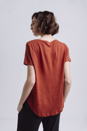 תמונה של TEO1 T SHIRT BORDEAUX