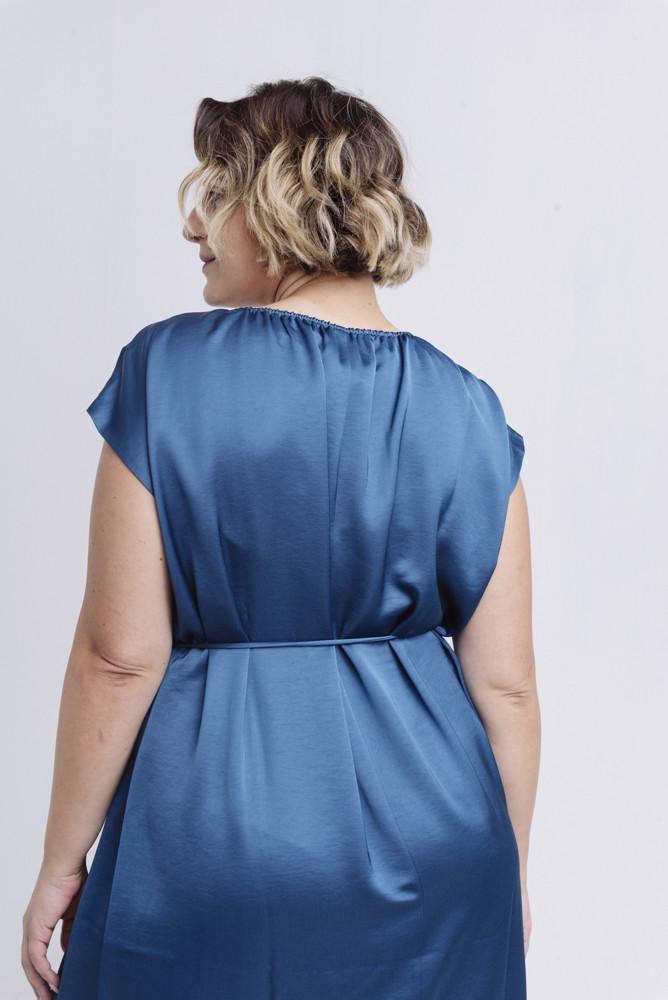 תמונה של DIMOND DRESS BLUE