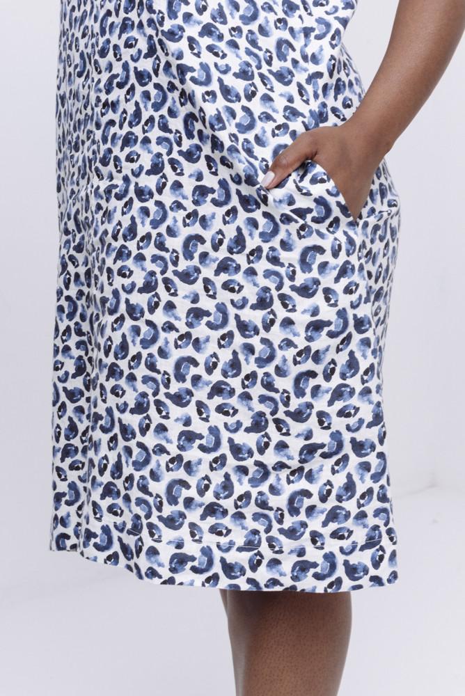 תמונה של DANA PRINT DRESS