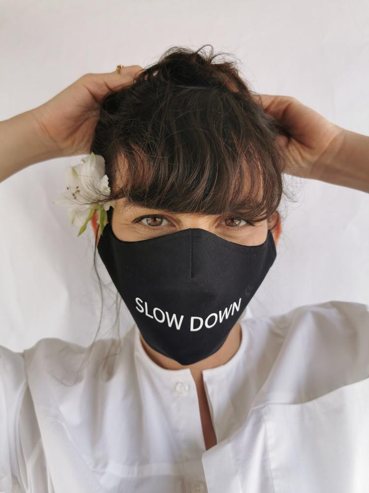 תמונה של מסכת פנים slow down