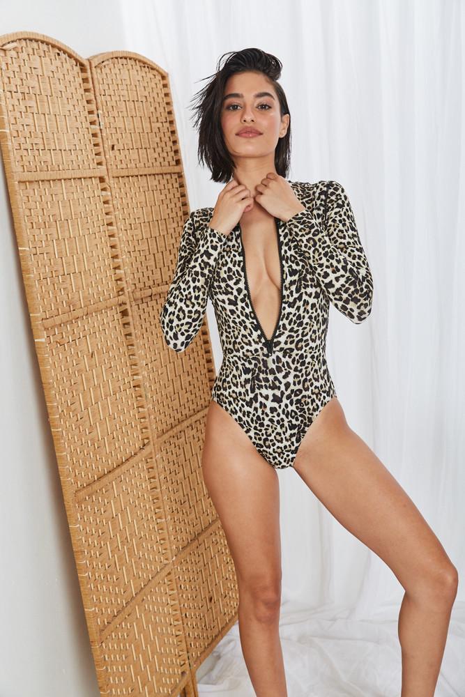 תמונה של בגד ים שלם VENUS מנומר